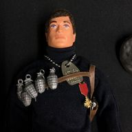 VINTAGE ACTION MAN  - FRENCH RESISTANCE FIGHTER  Ref 20/5
